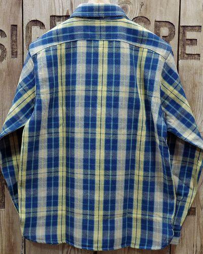 """画像5: Pherrow's """"19W-720WS"""" Heavy Flannel Shirts"""