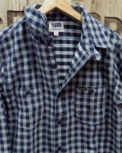 """画像2: Pherrow's """"19W-720WS"""" Heavy Flannel Shirts"""