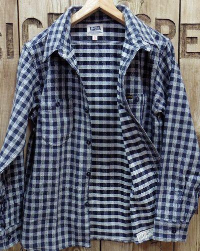 """画像4: Pherrow's """"19W-720WS"""" Heavy Flannel Shirts"""