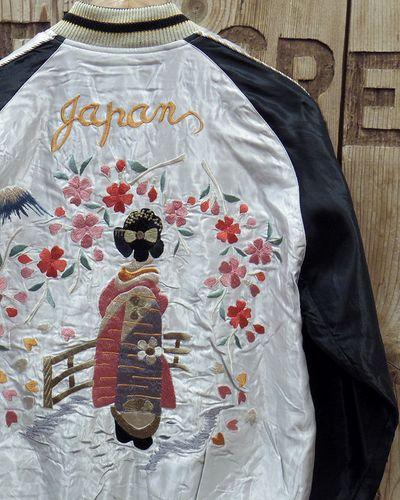 """画像1: TAILOR TOYO -Souvenir Jacket """"舞妓""""×""""WHITE EAGLE""""-"""