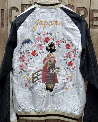 """画像2: TAILOR TOYO -Souvenir Jacket """"舞妓""""×""""WHITE EAGLE""""-"""