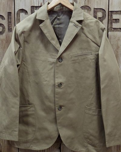 "画像2: Pherrow's ""19W-PWSC1"" MILITARY CLOTH SACK JACKET"