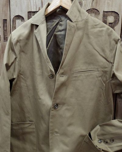 "画像3: Pherrow's ""19W-PWSC1"" MILITARY CLOTH SACK JACKET"