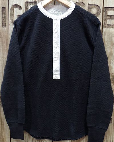画像2: FULLCOUNT 5991 -THERMAL HENLEY NECK-