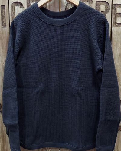 画像2: FULLCOUNT 5964 -HEAVY WEIGHT WAFFLE LONG SLEEVE T-SHIRTS-