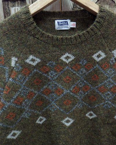 """画像3: Pherrow's """"19W-PSFS1"""" Jacquard Sweater"""
