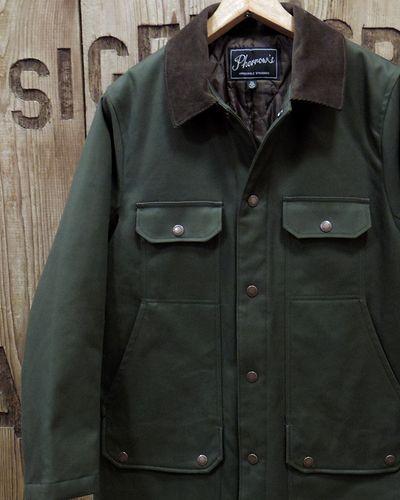 """画像1: Pherrow's """"19W-PHC1"""" Hunting Jacket Style Coat"""