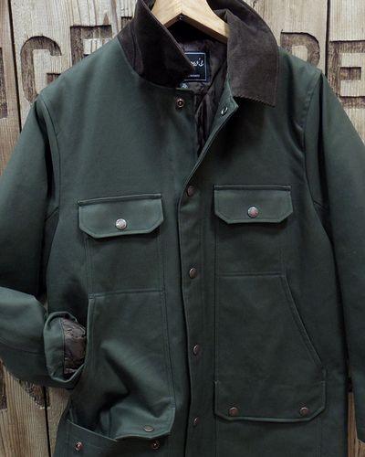 """画像3: Pherrow's """"19W-PHC1"""" Hunting Jacket Style Coat"""