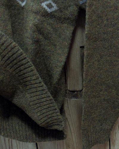 """画像4: Pherrow's """"19W-PSFS1"""" Jacquard Sweater"""