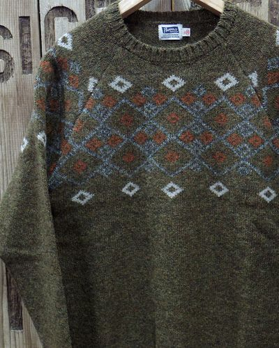 """画像1: Pherrow's """"19W-PSFS1"""" Jacquard Sweater"""