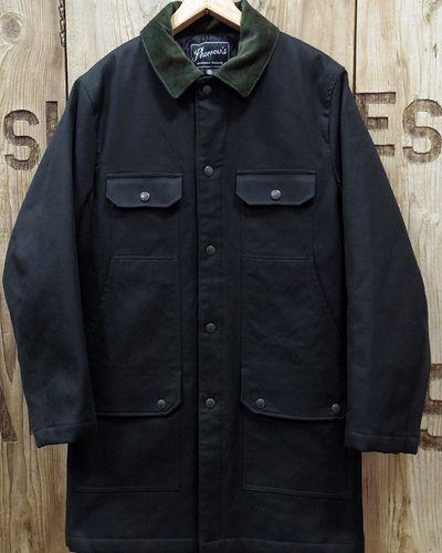 """画像2: Pherrow's """"19W-PHC1"""" Hunting Jacket Style Coat"""