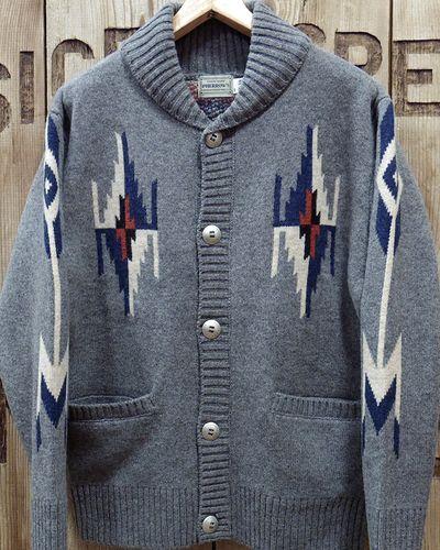 "画像2: Pherrow's ""19W-PRCC1"" Native Jacquard Knit Cardigan"