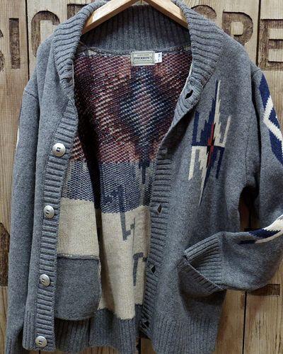 "画像4: Pherrow's ""19W-PRCC1"" Native Jacquard Knit Cardigan"