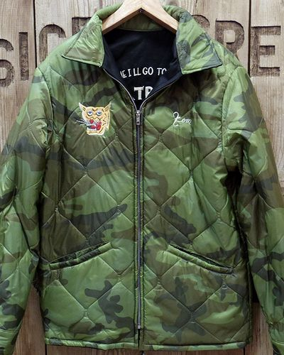 "画像4: TAILOR TOYO -Reversible Vietnam Jacket ""MAP × DRAGON""-"