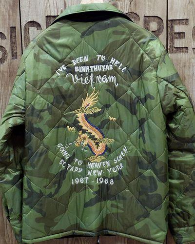 """画像5: TAILOR TOYO -Reversible Vietnam Jacket """"MAP × DRAGON""""-"""