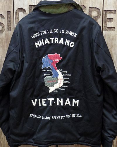 "画像3: TAILOR TOYO -Reversible Vietnam Jacket ""MAP × DRAGON""-"