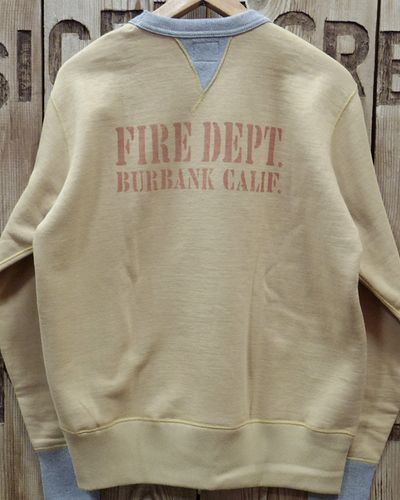 "画像3: TOYS McCOY -McHILL SWEAT SHIRT ""FIRE DEPT. TRUCK 1""-"