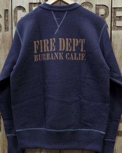 "画像5: TOYS McCOY -McHILL SWEAT SHIRT ""FIRE DEPT. TRUCK 1""-"