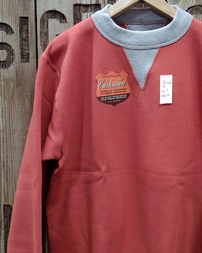 "画像1: CUSHMAN ""SET IN TWO TONE"" SWEAT SHIRTS"
