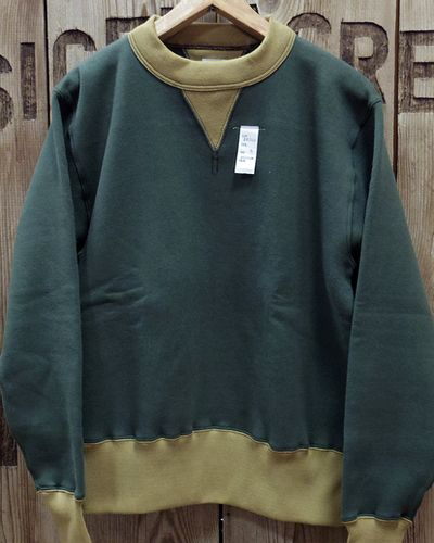 "画像5: CUSHMAN ""SET IN TWO TONE"" SWEAT SHIRTS"
