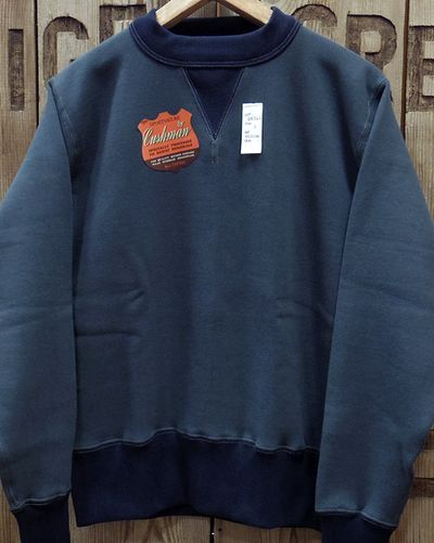 "画像4: CUSHMAN ""SET IN TWO TONE"" SWEAT SHIRTS"