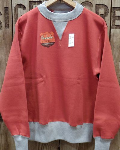 "画像2: CUSHMAN ""SET IN TWO TONE"" SWEAT SHIRTS"