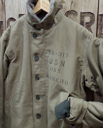 """画像4: BUZZ RICKSON'S -JACKET, DECK, ZIP """"TYPE N-1"""" SS-317 BARBERO-"""