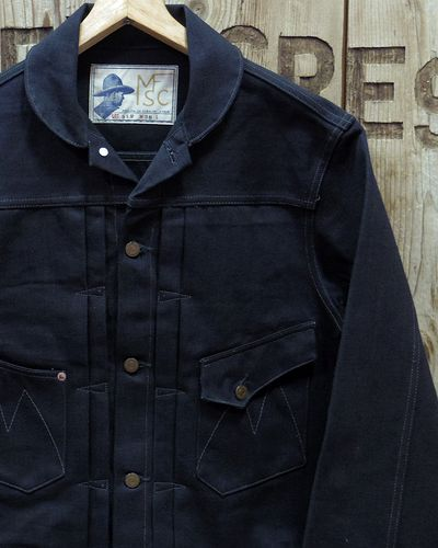 "画像1: MFSC ""16oz. MIDNIGHT DENIM RANCH BLOUSE"""
