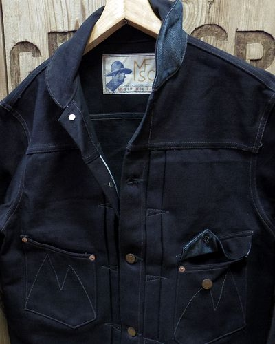 "画像3: MFSC ""16oz. MIDNIGHT DENIM RANCH BLOUSE"""