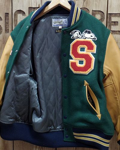 "画像3: WHITESVILLE×SUN SURF×PEANUTS ""AWARD JACKET"""