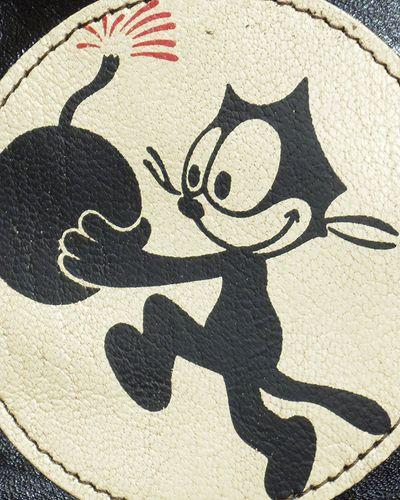 """画像4: TOYS McCOY -LEATHER DUAL BLADE BAG """"FELIX THE CAT""""-"""