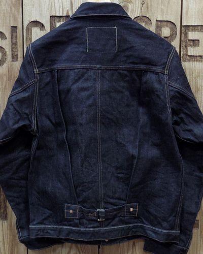 "画像4: Pherrow's ""19W-BH-10AJ"" 1st Model Denim Jacket"