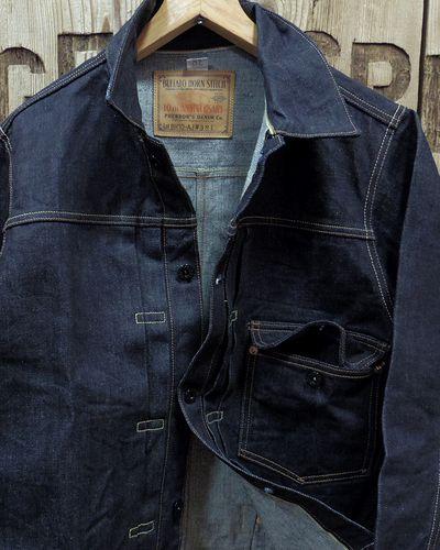 "画像3: Pherrow's ""19W-BH-10AJ"" 1st Model Denim Jacket"