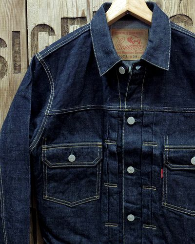 "画像1: Pherrow's ""407J"" Denim Jacket"