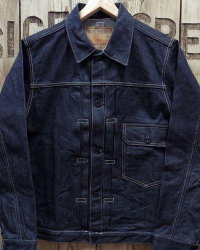 "画像2: Pherrow's ""19W-BH-10AJ"" 1st Model Denim Jacket"