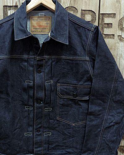 "画像1: Pherrow's ""19W-BH-10AJ"" 1st Model Denim Jacket"