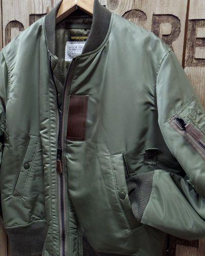 """画像3: Pherrow's """"19W-B-15B(MOD)-TD"""" Down Flight Jacket"""