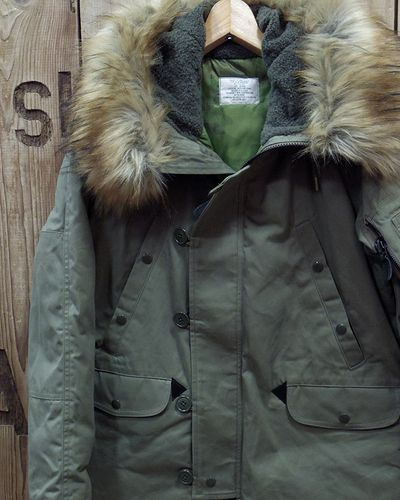 "画像1: Pherrow's ""19W-N-3B(MOD)-TD"" Down Jacket"
