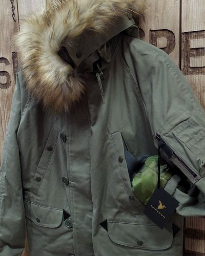 "画像3: Pherrow's ""19W-N-3B(MOD)-TD"" Down Jacket"