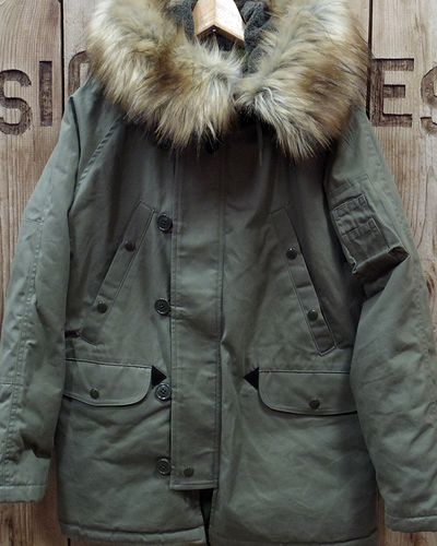 "画像2: Pherrow's ""19W-N-3B(MOD)-TD"" Down Jacket"