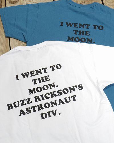 """画像5: BUZZ RICKSON'S -SNOOPY S/S T-SHIRT """"I'M ON THE MOON!""""-"""