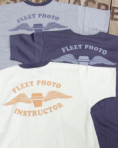 """画像5: TOYS McCOY -MILITARY TEE SHIRT """"FLEET PHOTO INSTRUCTOR""""-"""