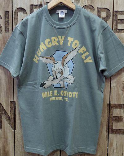 """画像4: TOYS McCOY -MILITARY TEE SHIRT """"HUNGRY TO FLY""""-"""