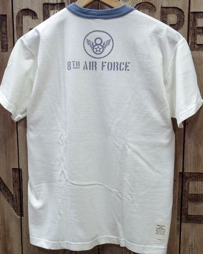 "画像3: TOYS McCOY -MILITARY TEE SHIRT ""MIGHTY EIGHTH""-"