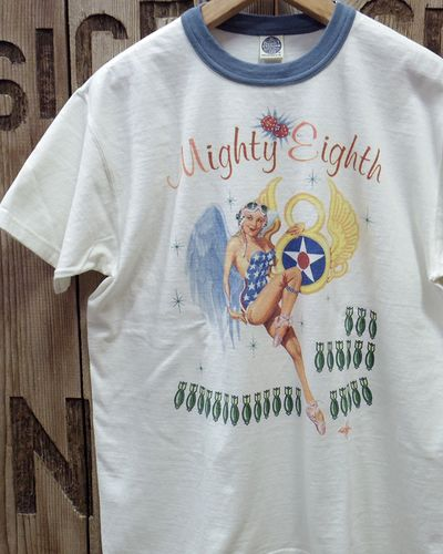 "画像1: TOYS McCOY -MILITARY TEE SHIRT ""MIGHTY EIGHTH""-"