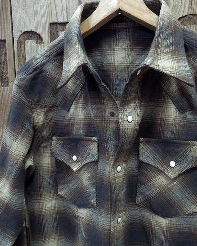 画像2: FULLCOUNT 4894CH -Check Flannel Western Shirt-