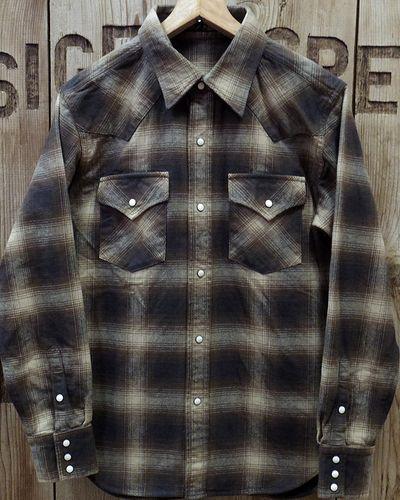 画像1: FULLCOUNT 4894CH -Check Flannel Western Shirt-