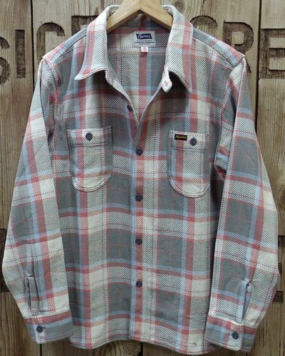 "画像1: Pherrow's ""20W-720WS"" Heavy Flannel Shirts"
