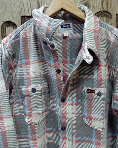 "画像2: Pherrow's ""20W-720WS"" Heavy Flannel Shirts"