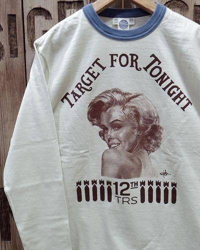 """画像1: TOYS McCOY -MILITARY LONG SLEEVE TEE """"TARGET FOR TONIGHT""""-"""